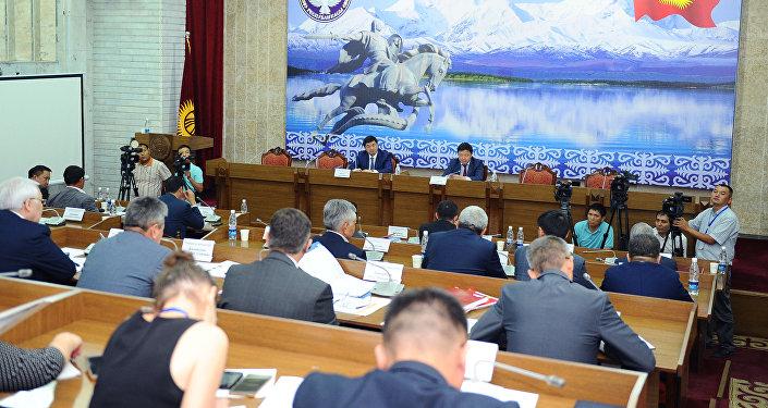 Отчет о работе правительства Кыргызской Республики за 2017 год