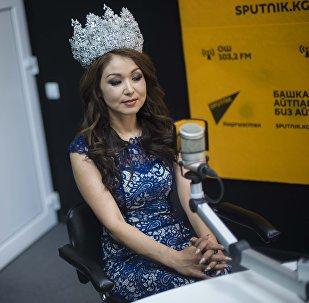 Жол кырсыгынан каза болсон Дүйнө сулуусу наамынын ээси Сания Шакирова. Архив