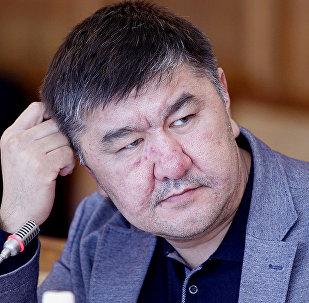 Архивное фото депутата Жогорку Кенеша КР VI созыва от фракции Кыргызстан Нурлана Кадыкеева