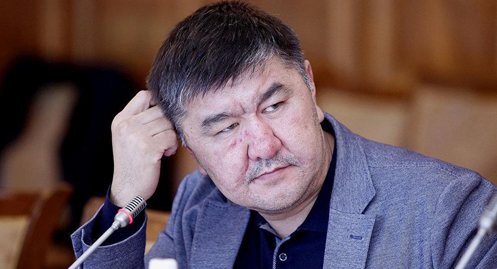 Архивное фото депутата Жогорку Кенеша Нурлана Кадыкеева