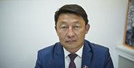Депутат Жогорку Кенеша Кенжебек Бокоев. Архивное фото