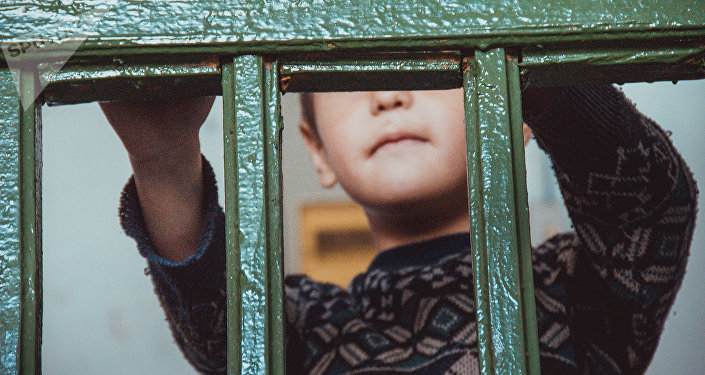 Маленький мальчик. Архивное фото