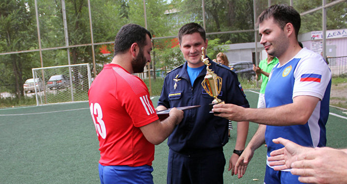 Турнир по мини-футболу в Канте