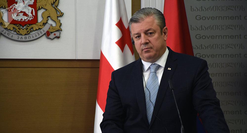 Премьер-министр Грузии Георгий Квирикашвили. Архивное фото