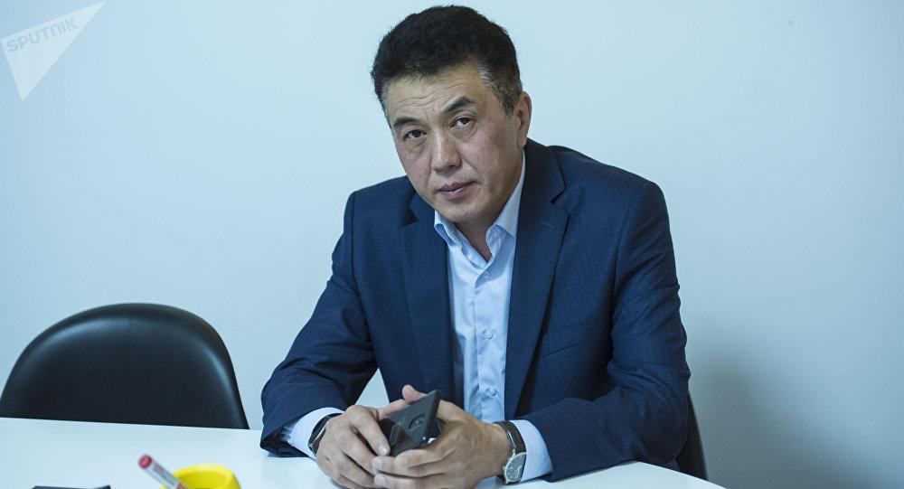 Республикалык жугуштуу оорулар ооруканасынын 3-бөлүмүнүн башчысы Канат Исаков