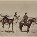 Архивные кадры кыргызов в 1865-1872 годах