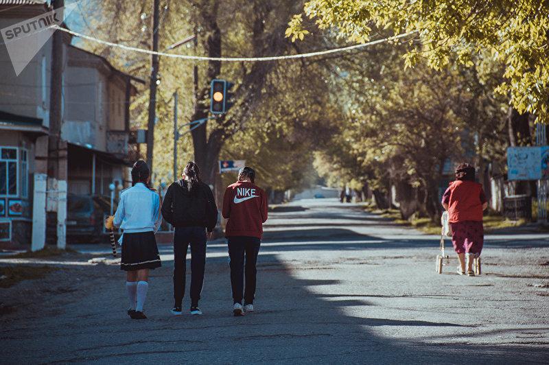 Улицы города Айдаркен