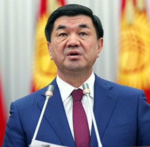 Премьер-министр Мухаммедкалый Абылгазиевтин архивдик сүрөтү