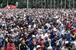 Бишкектеги айт намаз. Аянтка батпаган эле
