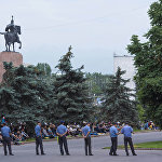 На Старой площади дежурили сотрудники столичного ГУВД