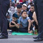 По данным ДУМК, на него пришли более 40 тысяч человек