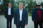 Архивное фото экс-президента Кыргызской Республики, председателя СДПК Алмазбека Атамбаева