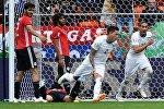 Уругвайдын футболчулары Египттин курама командасын 1:0 эсебинде жеңип алды