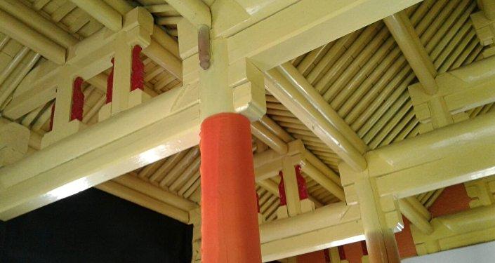 Мечитти 1904-жылдан тарта курулуп, 1907-жылы бүткөрүлгөн
