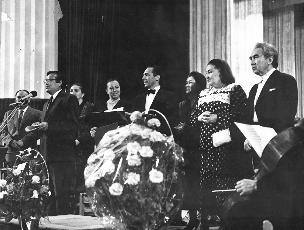 Токтогул атындагы мамлекеттик сыйлыгынын лауреаты чет өлкөлөрдө да дирижёрлук кылган