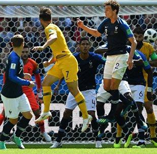 Футбол. ЧМ-2018. Матч Франция - Австралия