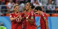 Футбол. ЧМ-2018. Матч Перу - Дания