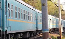 Пассажирский поезд КТЖ