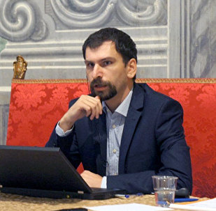 Эксперт Российского института стратегических исследований, специалист по странам Центральной Азии Дмитрий Александров. Архивное фото