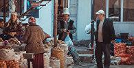 Исафана шаарындагы базар сатуучулары. Архивдик сүрөт