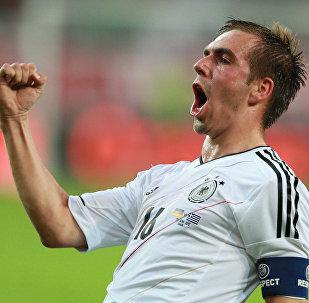 Архивное фото игрока сборной Германии Филиппа Лама
