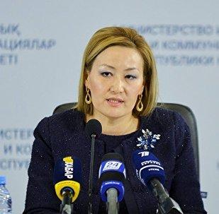 Вице-министр образования и науки Казахстана Бибигуль Асылова. Архивное фото
