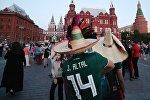 Мексиканские болельщики в России. Архивное фото