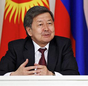 Экс-премьер-министр КР Жанторо Сатыбалдиев. Архивное фото