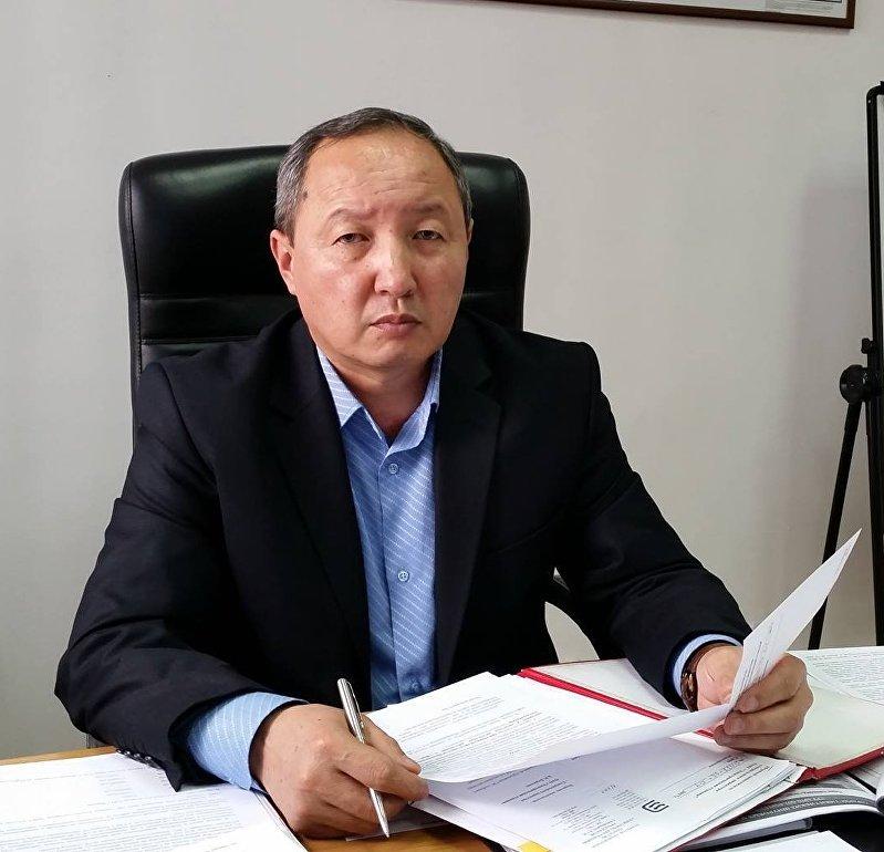 Первый заместитель генерального директора ОАО Электрические станции Бердибек Боркоев в рабочем кабинете