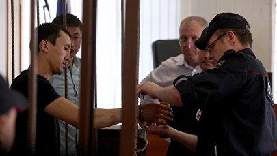 Суд над таксистом Анарбеком уулу Чынгызом, сбившим пешеходов в центре Москвы. Архивное фото