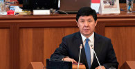 Премьер-министр Кыргызстана Темир Сариев. Архивное фото