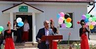 В селе Жел-Арык Кеминского района открыли энергоэффективный детский сад