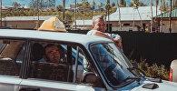 Таксисты на парковке автовокзала города Исфана. Архивное фото