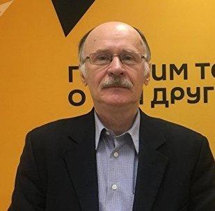 Политолог Юрий Почта. Архивное фото