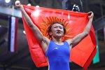 Борец из Кыргызстана Айсулуу Тыныбекова. Архивное фото