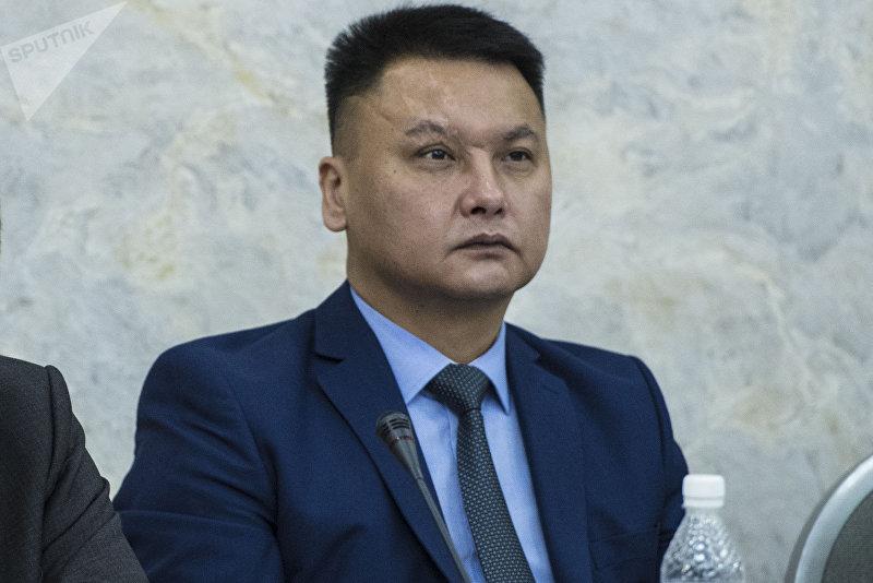 Секретарь Совета безопасности Кыргызстана Дамир Сагынбаев на антитеррористическом форуме стран — участниц ЕАЭС в Бишкеке