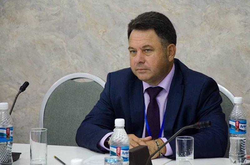 Директор фонда Евразийцы — новая волна Юрий Ануфриев на антитеррористическом форуме стран — участниц ЕАЭС в Бишкеке