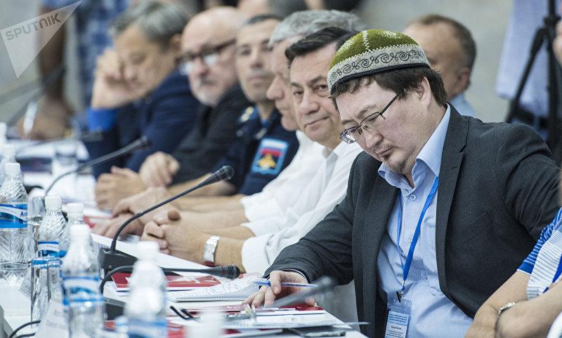 Теолог Кадыр Маликов на антитеррористическом форуме стран — участниц ЕАЭС в Бишкеке