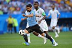 Футбол, Уругвай менен Сауд-Аравия беттешисү. Архивдик сүрөт