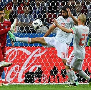 Испания менен Ирандын футбол боюнча курама командаларынын мелдеши