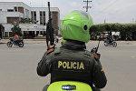 Полиция в Колумбии. Архивное фото
