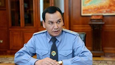 Министр внутренних дел КР Кашкар Джунушалиев. Архивное фото