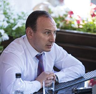 Посол Беларуси в КР Андрей Страчко