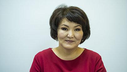Улуттук госпиталдын гастроэнтерология бөлүмүнүн профтолог дарыгери Гүлмира Жапаева