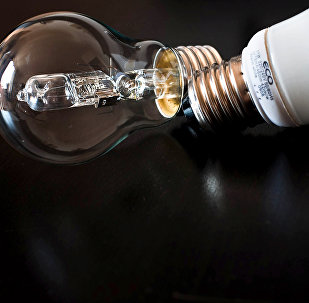 Электрические лампочки. Архивное фото