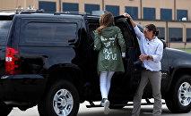 АКШнын биринчи айымы Меланья Трамп