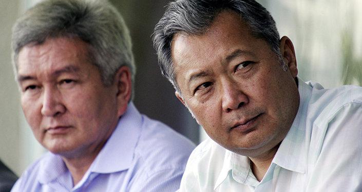 Президент Кыргызстана Курманбек Бакиев и премьер-министр Феликс Кулов