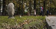 Дубовый парк в Бишкеке. Архивное фото