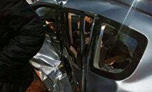 9-апрелинде түнкү саат 23:40 чамасында Чыңгыз Айтматов проспектиси менен Горький көчөсүнүн кесилишинде Honda Fit, Honda Jazz жана Daewoo Matiz үлгүсүндөгү унаалар кагышкан