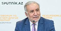 Председатель Союза свободных потребителей Азербайджана Эйюб Гусейнов. Архивное фото